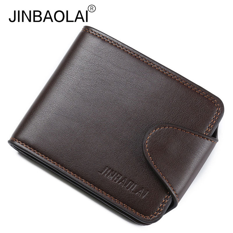 Fashion Men Wallets Famous Brand Leather Wallet Hasp Design Wallets with Coin Pocket Purse Card Holder for Men Carteira casual weaving design card holder handbag hasp wallet for women
