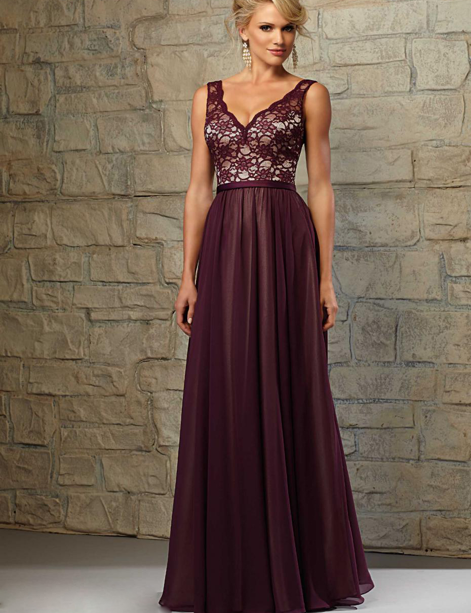 Straps aexy v neck deep v back top lace purple long modest straps aexy v neck deep v back top lace purple long modest bridesmaid dresses vestido longo de festa para casamento in bridesmaid dresses from weddings ombrellifo Image collections