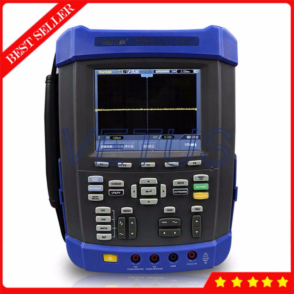 DSO8152E 6000 Counts DMM Digital Scopemeter with Handheld Oscilloscope Recorder Spectrum Analyzer Arbitrary Waveform generator