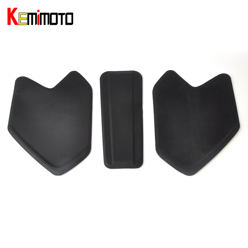 KEMiMOTO R1200GS Tank pad For BMW R 1200 GS LC Adv 2014 2015 2016 2017 for bmw r1200gs adv f800gs adv f700gs new motorcycle adjustable handlebar riser bar clamp extend adapter