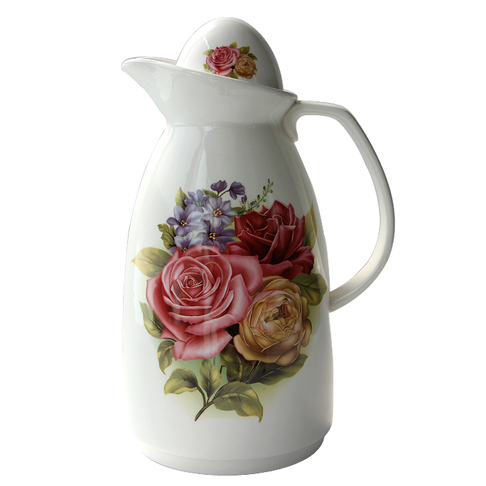 OUSSIRRO 2200ML Ceramic Pitchers Water Bottles Cold Kettle No Explosion Jug Large Capacity Household Ceramic Thermos