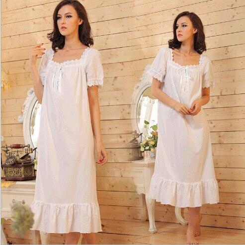 Plus size cotton lounge dresses