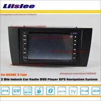 Liislee для Jaguar S type S type X type 2001 ~ 2009 радио CD dvd плеер gps навигатор система/двойной Din аудио автомобиля