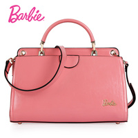 2017 New Barbie Women S HandBag Simple Styel New Red PU Leather Ladies Handbag Famale Fashion