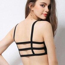 Underwear Sexy Push-Up-Bra Bralette Women Anti-Light Breathable No Wrapped Fitness-Bra