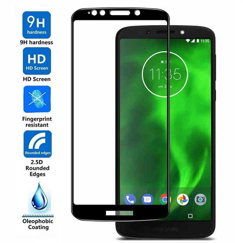 Для Motorola Moto Z2 Z3 G 6 X Play G6 плюс G5S P30 обратите внимание на один Мощность P30Play P30Note Z3Play Z2Play G6Play G6Plus полный экран из закаленного стекла