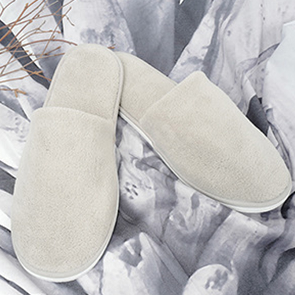 Women Men Soft Guest Wear Disposable Slippers Washable Indoor Home Coral Velvet Salon Club Non-Slip HotelWomen Men Soft Guest Wear Disposable Slippers Washable Indoor Home Coral Velvet Salon Club Non-Slip Hotel