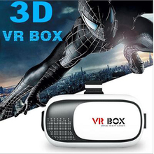 Excellent Quality VR BOX Upgraded Google Cardboad 2.0 Headset 3D Glasses+Smart Bluetooth Gamepad for 85-95 Degree Perspective