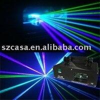 2 PCS Carton Green Violet Mixed Blue Laser Light DMX DJ Disco Party Christmas Stage Lighting