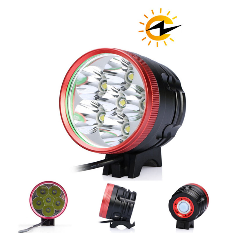 9300LM 3-Mode Extra Headlamp Bright 6 CREE XM-L U2 LED Light Headlight Bike Accessories Bicycle Headlamp 8400mAh Battery singfire sf 90 cree xm l t6 3 mode 1000lm white bicycle headlamp headlight silve w 18650 battery