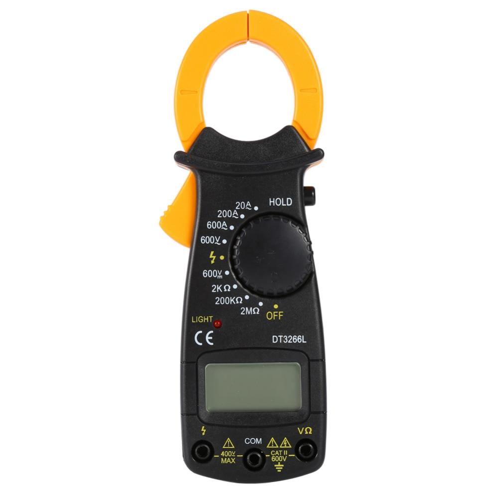 Digital Multimeter Meter Reading : Aliexpress buy digital multimeter electronic clamp