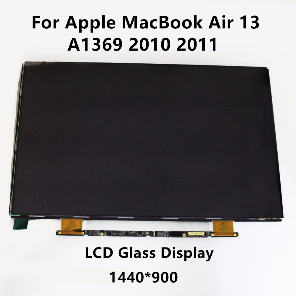 15'' LCD Screen Glass Panel Display LP133WP1 TJA1 LTH133BT01 for Apple MacBook Air 13 A1369 2010 2011 MC503 MC504 MC965 MC966 original brand new for macbook a1466 a1369 lcd screen display panel 13 3 glass