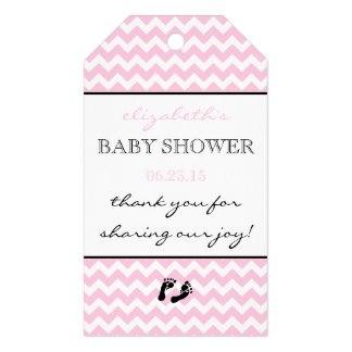 Aliexpress Com Buy 2x3 5inch Pink And White Chevron Baby Shower