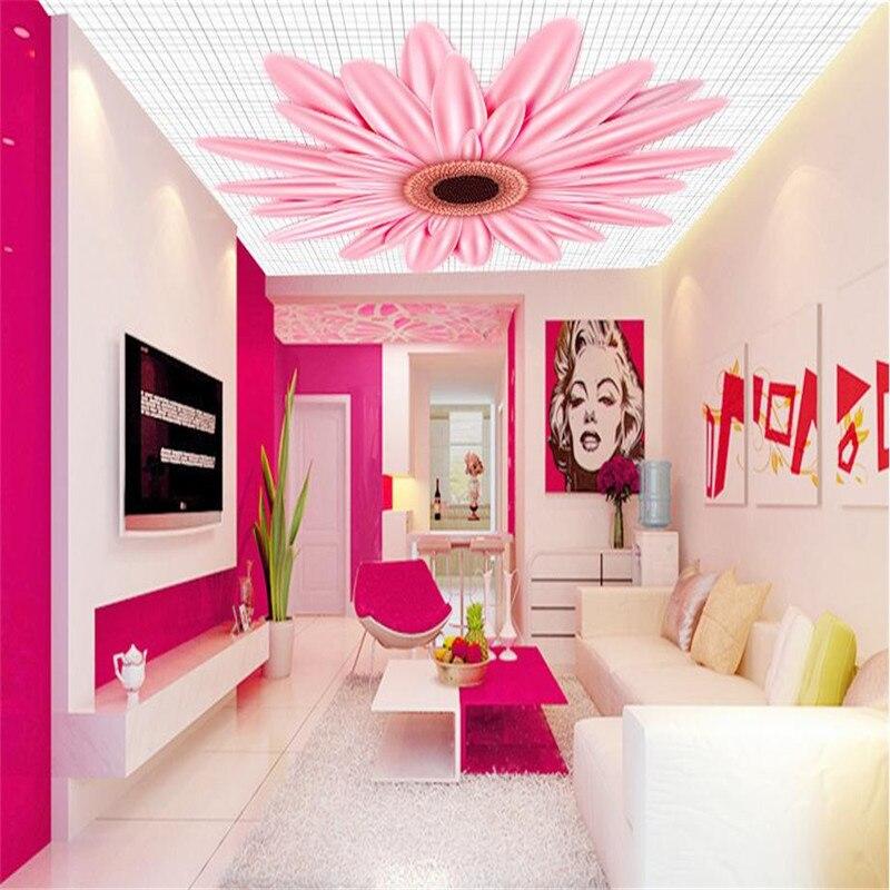 3d HD custom moden minimalist wallpaper living room large background ...
