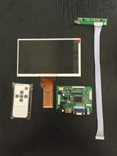 On sale 9 Inches For Raspberry Pi LCD Display Screen TFT Monitor AT090TN12 with HDMI VGA Input Driver Board Controller