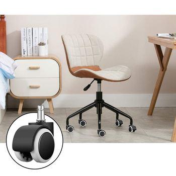 Unids oferta! ruedas giratorias para sillas de oficina, 6 piezas ...