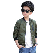 2018 New Children Jacket for Boys Casual Clothing Teenage Outwear & Coats Kids 5-15Y BC182
