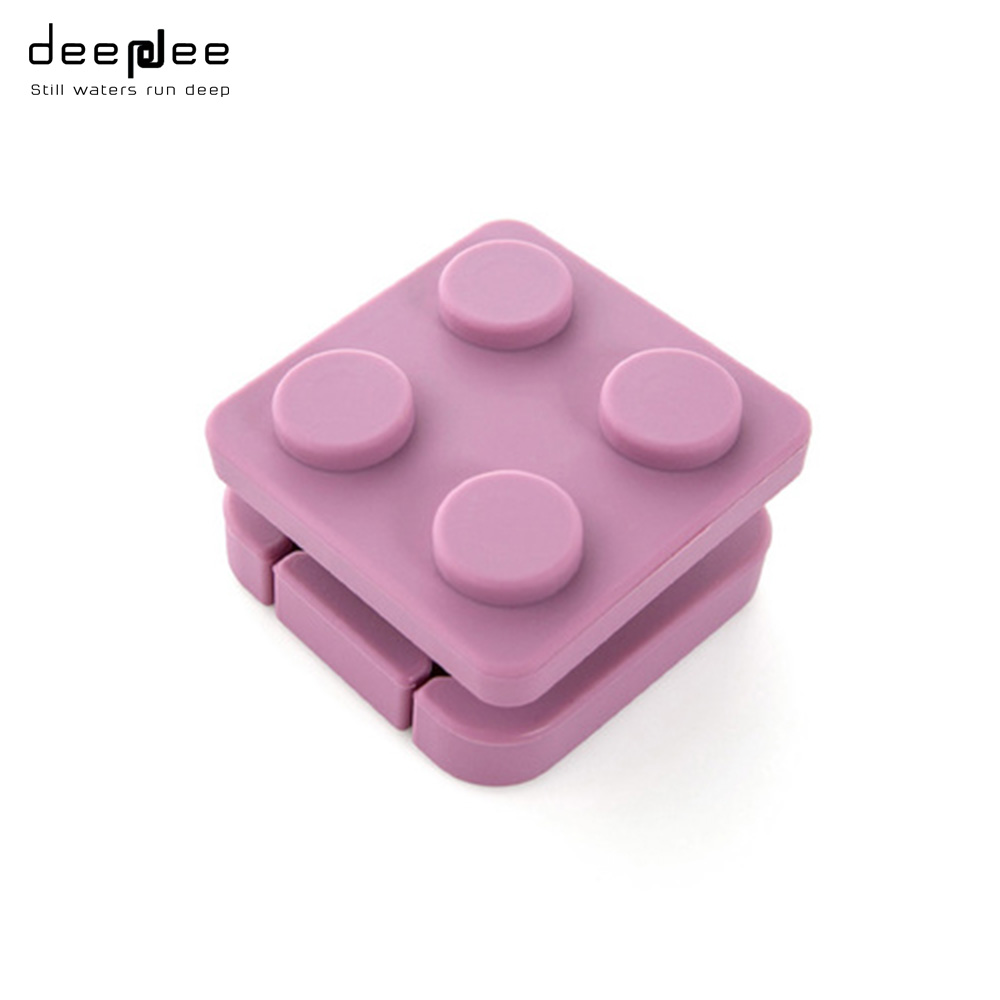 Deepdee Silicone Building Blocks Type Cable Winder