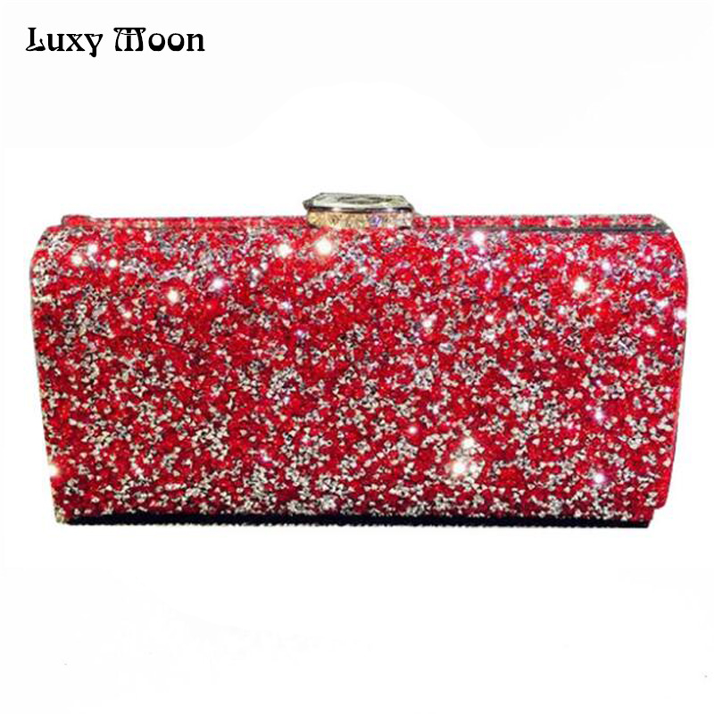 Popular Red and Silver Clutch Purse-Buy Cheap Red and Silver ...