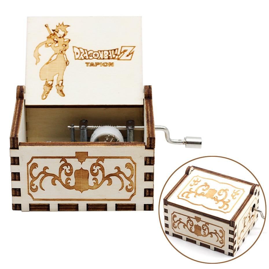 Деревянная музыкальная шкатулка с коленчатым коленом Красавица и Чудовище Звездные войны остров принцесса для Рождества с днем рождения подарок детям подарок