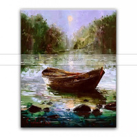handmade oil painting modern Canvas Painting 100% Best Decoration Home Art Modern Abstract oil painting for Living Room Wall