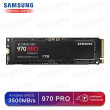 سامسونج 970 برو M.2 (2280) 512 جيجابايت 1 تيرا بايت SSD nvme pcie الداخلية أقراص بحالة صلبة HDD القرص الصلب بوصة كمبيوتر محمول سطح المكتب MLC PC القرص
