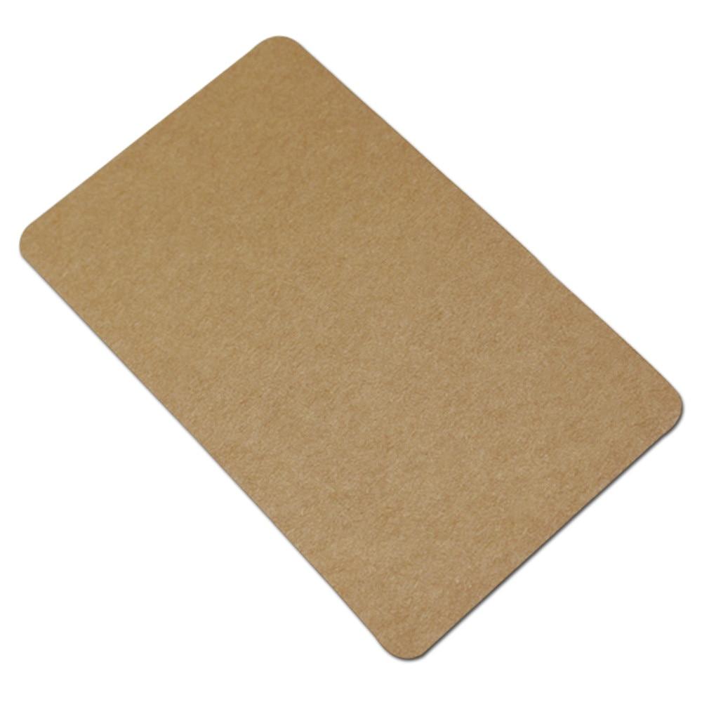 100 Adet / grup 6 * 10 cm Kalın Kraft Kağıt DIY Scrapbooking - Tatiller ve Partiler Için - Fotoğraf 2