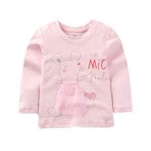 2019 Girls T-shirt Kids Tshirt Baby T Shirt Clothes Tops Animal Print Tee Shirt Enfant Roupa Menina Koszulki Camiseta Princesas недорго, оригинальная цена