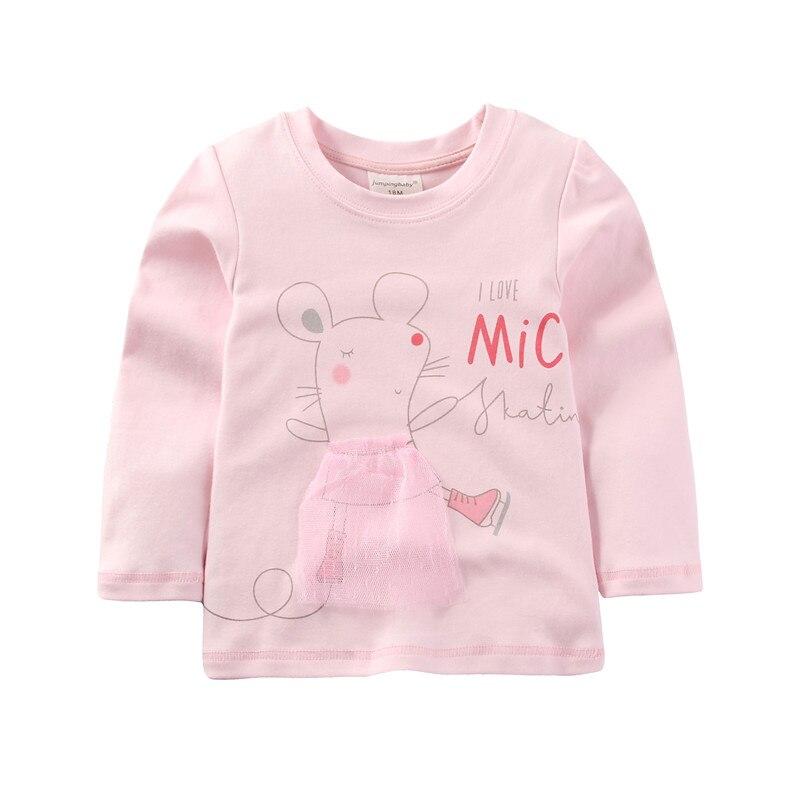 2019 filles T-shirt enfants T-shirt bébé T-shirt vêtements hauts Animal imprimé T-shirt Enfant Roupa Menina Koszulki Camiseta Princesas