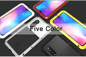 Image 5 - For Xiaomi Mi9 Explorer Case LOVE MEI Shock Dirt Proof Water Resistant Metal Armor Cover Phone Case for Xiaomi Mi 9 6.39 inch