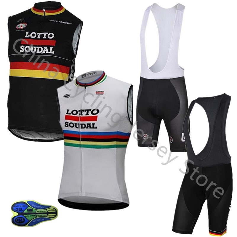 Lotto Cycling Jersey Breathable Mtb Pro Team Summer Sleeveless Racing Bicycle Cycling Clothing Maillot Ropa Ciclismo Hombre B15 Moderate Cost Cycling Clothings Cycling