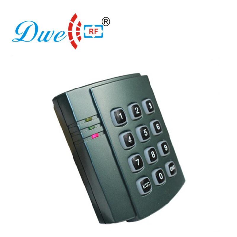 Free shipping 125khz id safe rfid independent access keypad standalone access control 1100 users controller em4100 125khz keypad standalone access controller kit