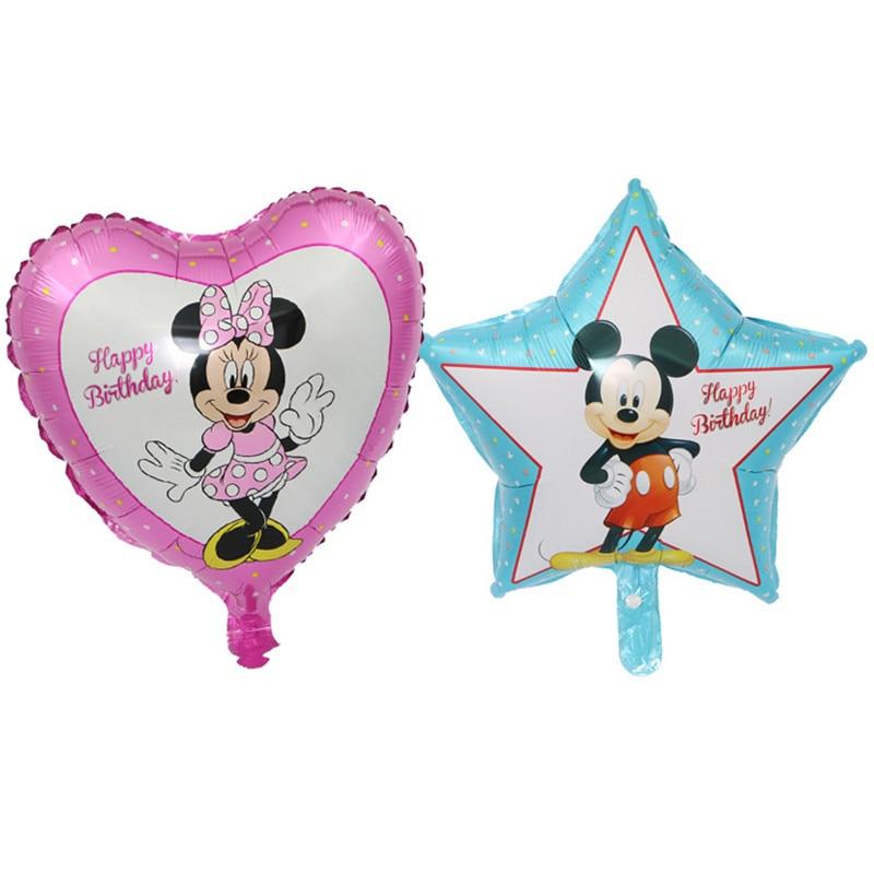 Гигантский мультяшный милый мышонок мультяшный воздушный шар из фольги воздушный шар детский день рождения украшения Классические игрушки подарок мультяшная шляпа