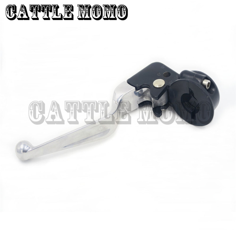ФОТО High Quality Motorcycle Clutch Lever&Mirror Horns For Harley Softail Deluxe Road King Fat boy breakout Moto Clutch Lever