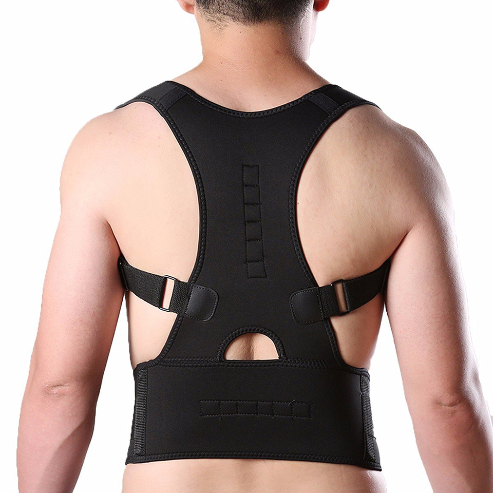 Adjustable Brace Posture Corrector Back Support Shoulder Belt Men/ Women Orthopedic Shoulder Pain Lumbar Corset Back Brace