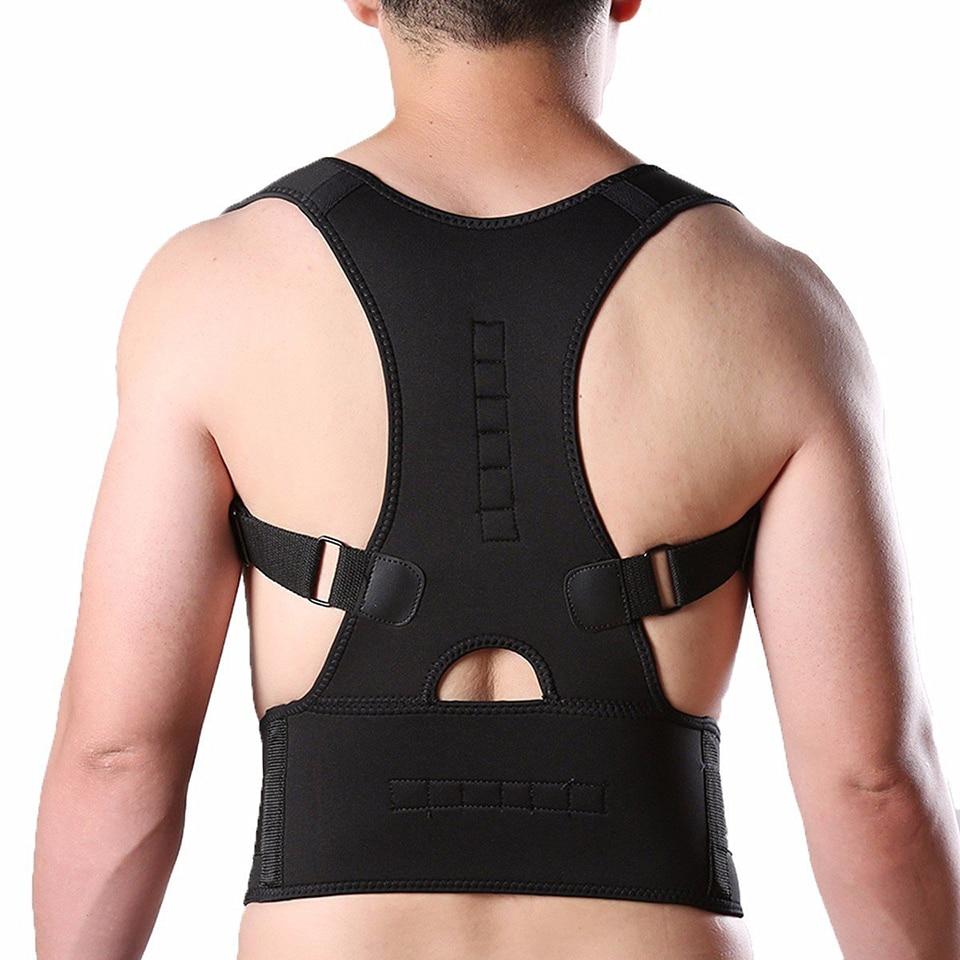 4ea61a26bda Adjustable Brace Posture Corrector Back Support Shoulder Belt Men  Women  Orthopedic Shoulder Pain Lumbar Corset Back Brace