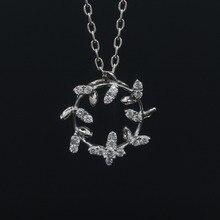 LASAMERO Halo 0.04CT 18k Gold Round Cut Square Center Pave Set Natural Diamond Pendant Necklace Chain Women Fine Jewelry