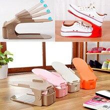 घर का उपयोग जूता रैक आधुनिक डबल सफाई भंडारण जूते रैक लिविंग रूम सुविधाजनक शूबॉक्स जूते आयोजक स्टैंड शेल्फ