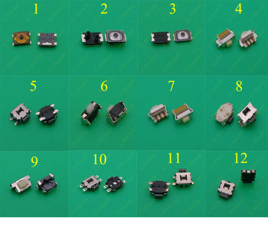 الهاتف المحمول زر التبديل السلطة الصغيرة لسامسونج S2 S3 S4 نوت 3 I8190 I8160 نوكيا لينوفو بلاك بيري آيفون 4G 4 4s 5 5C 5s