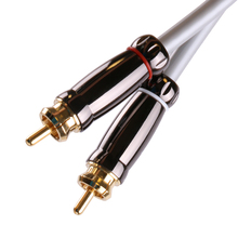 SKW highend rca jack audio cables male to male rca aux cable subwoofer digital coaxial rca cable for CD car subwoofer amplifier