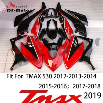 High Quality Tmax530 Fairing Kit Bodywork Bolts for Yamaha Tmax 530 2017 2018 2019 Tmax Fairing ABS Plastic Injection red high quality fairings for kawasaki ninja zx9r fairing kit 2002 2003 02 03 ems free red white abs plastic kits xl23