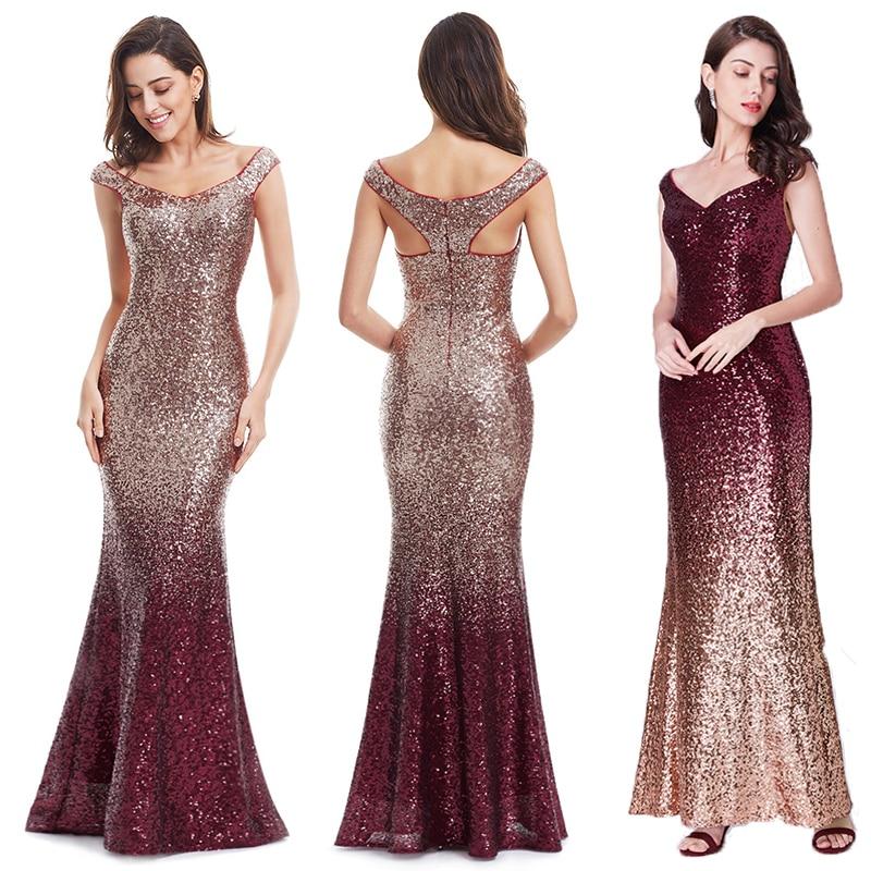 Evening Dress Long Sparkle 201...