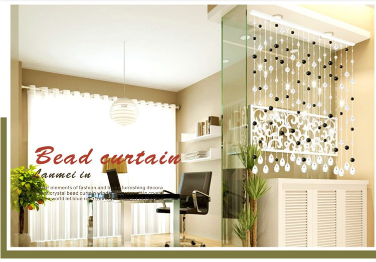 Free Shipping! 2013 New Fashion Amazing Man-made Crystal Beaded Door <font><b>Curtain</b></font> ---Made to Measure