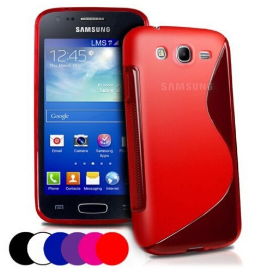New Soft Silicone TPU Gel S line Skin Back Cover Case For Samsung Galaxy Ace 3 S7270 S7272 S7275