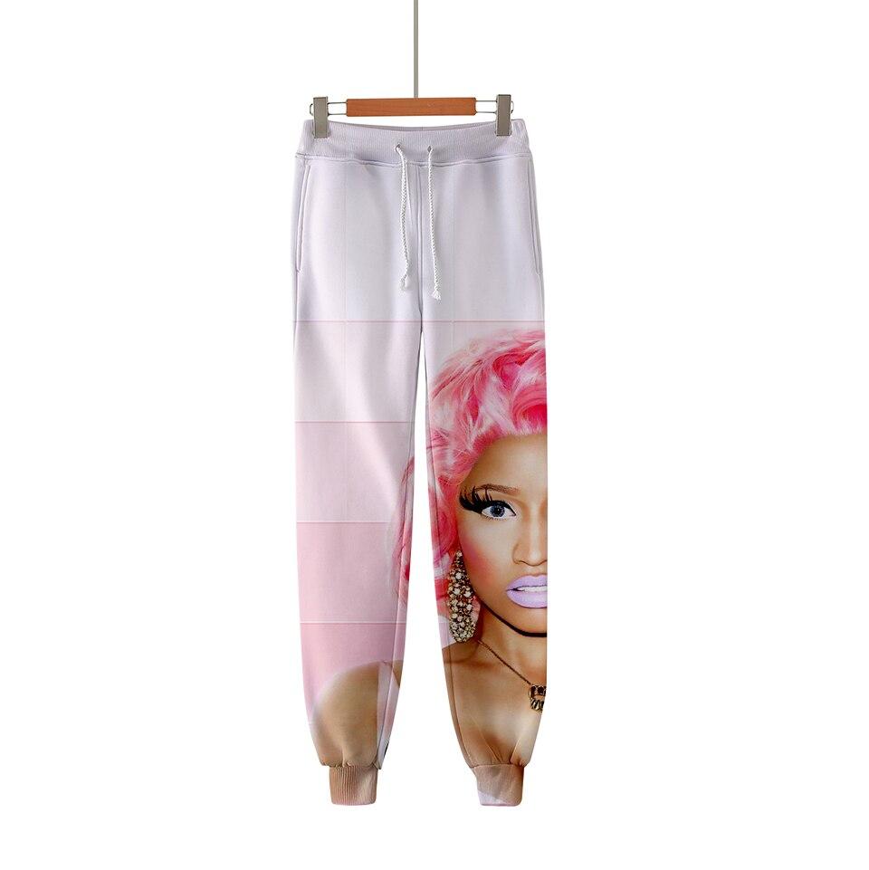 LUCKYFRIDAYF 3D Nicki Minaj Fashion pants High Quality Pants Casual Warm Fans Pants Slim Pop Print Soft Men Women Clothes in Pants amp Capris from Women 39 s Clothing