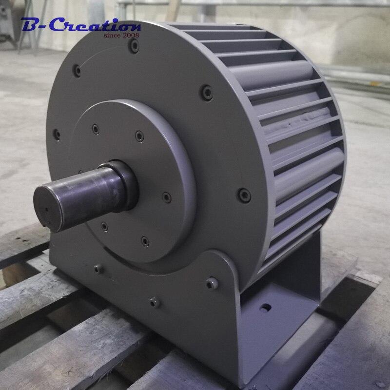 Заводская цена 10KW 220 В 380 430 ac редкоземельных низких оборотов в минуту генератор с постоянным магнитом защита от молний база для домашнего ис