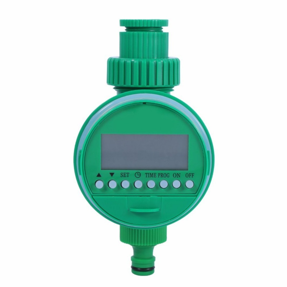 Automatic Digital LCD Electric Irrigation Timer Irrigation Controller Watering Programs Home Garden Lawn Water Timer neje zj0025 3 electronic auto water timer watering irrigation system controller green yellow