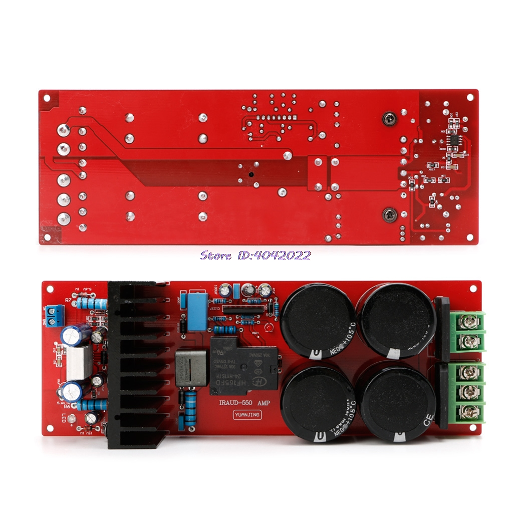 30A IRFB23N 15D class D Amplifier Board Mono 350W 8Omega 700W 4Omega UPC1237 IRS2092