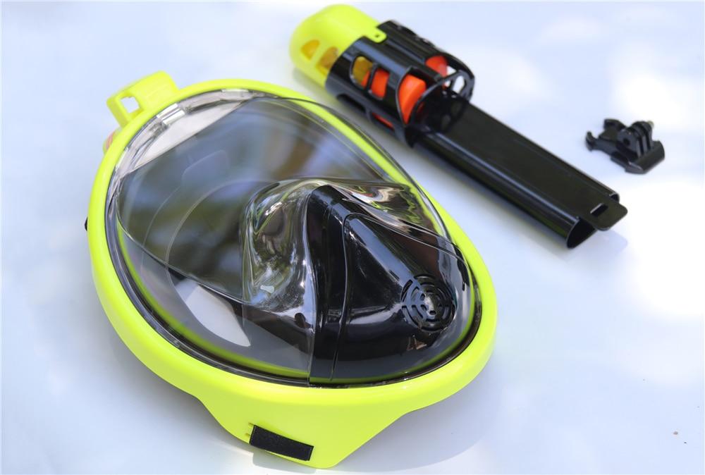 cheio máscara de mergulho subaquática anti-nevoeiro máscara
