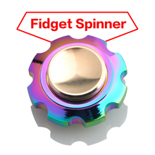 New Matel Tri-Spinner Fidget Spinner Toy  EDC Fidget Spinner For Autism and ADHD Rotation Time Long Anti Stress Toys
